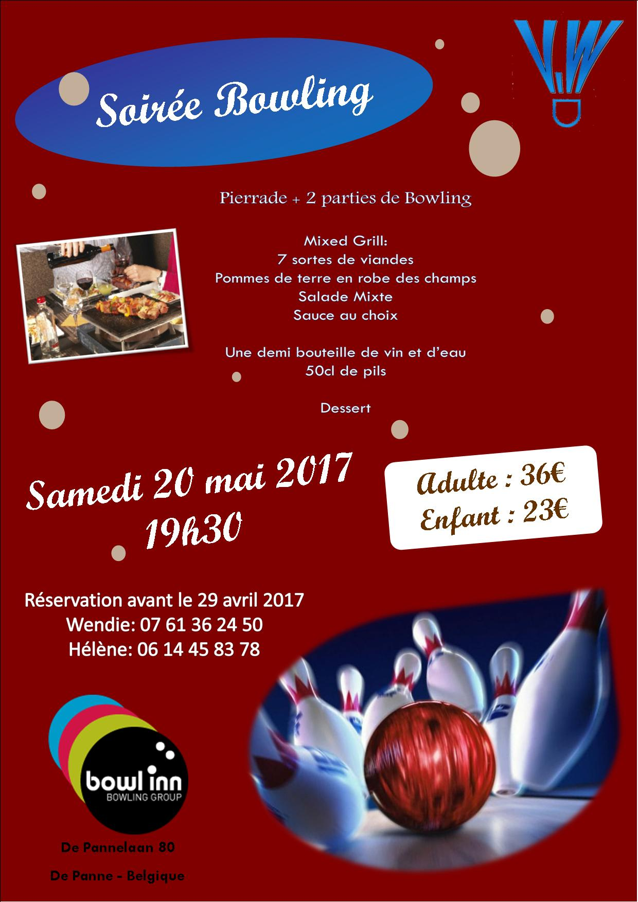 Affiche bowling 2017